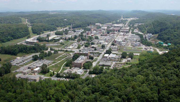 Oak Ridge Nuclear Laboratory in de bossen van Tennessee. Beeld US Department of Energy