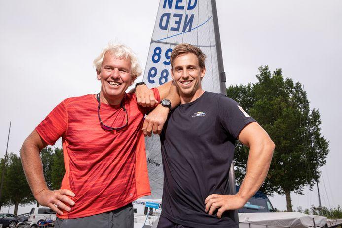 Roy en Nicholas Heiner.