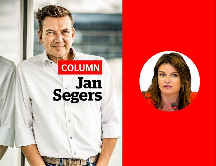 Jan Segers en Goedele Liekens.