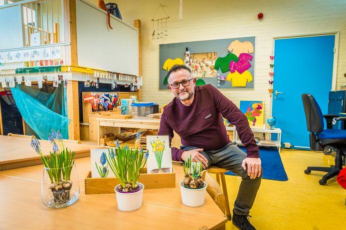 Directeur van de Anninksschool Ben de Vlugt.