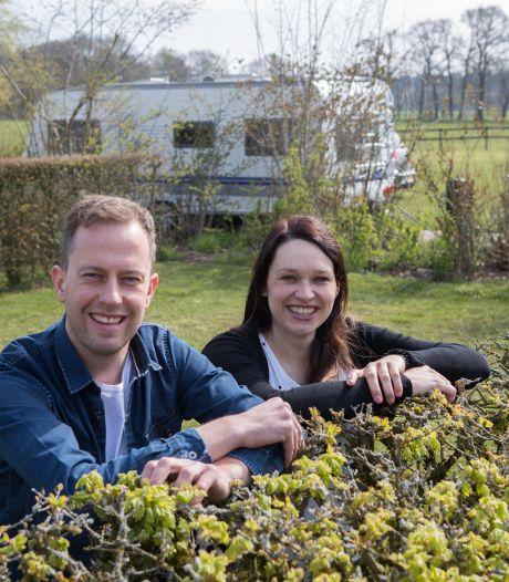 Met schone lei naar grotere minicamping in Luttenberg: 'Band met de buurt herstellen kost tijd'