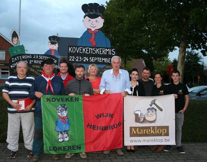 Het bestuur van Kovekenskermis telt af naar de 191ste editie van de eeuwenoude traditie.