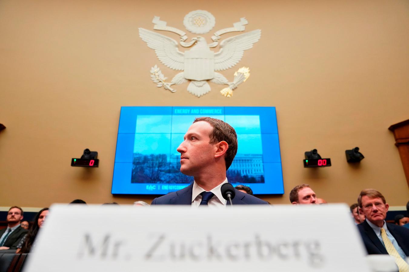 Mark Zuckerberg, baas van Facebook.