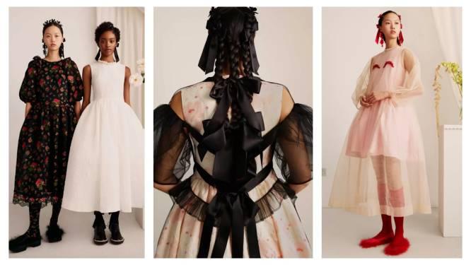 H&M's nieuwste samenwerking met ontwerper Simone Rocha schreeuwt Regency-core