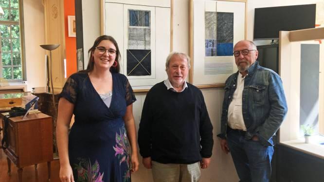 Arnold Hilderson stelt werken tentoon in de bib