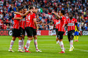 PSV viert de 1-0 van Davy Pröpper.