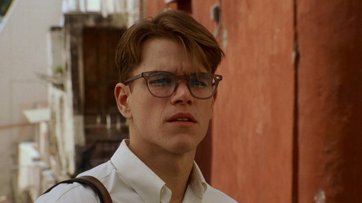 Matt Damon in 'The Talented Mr. Ripley' Beeld TMDB