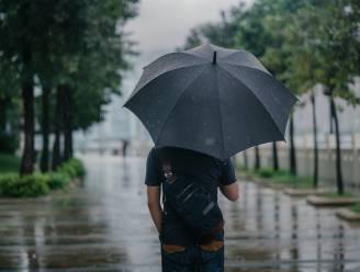 Zachtere temperaturen, maar bijna overal regen