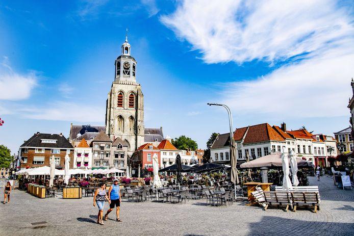 Horeca in Bergen op Zoom kan niet meer groeien.  Wie zich vestigt moet aantonen dat elders vierkante meters in de stad worden ingeleverd.