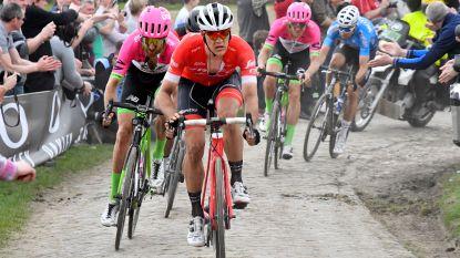 """Belgen werken elkaar tegen in achtervolging op Sagan - Stuyven: """"Vreemd manoeuvre van Greg"""". Van Avermaet: """"Was aan Vanmarcke om te reageren"""""""
