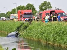 'Onwel geworden man' rijdt het water in bij Nieuwveen