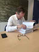 Paul Hofstra van de Rotterdamse Rekenkamer heeft 'tig' keer gevraagd aan de gemeente om alle informatie te leveren over het Schiekadeblok.