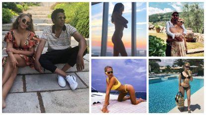 Bikini's, zwembaden en selfies bij de vleet: ook de celebs zijn op vakantie