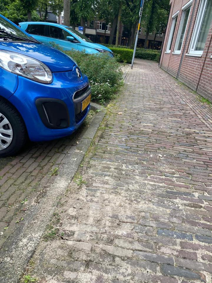 Foutje: Oisterwijk trekt parkeerboete in na het verplaatsen van een verkeersbord.