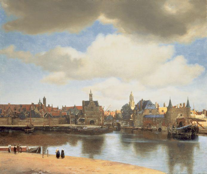 Johannes Vermeer, Gezicht op Delft.