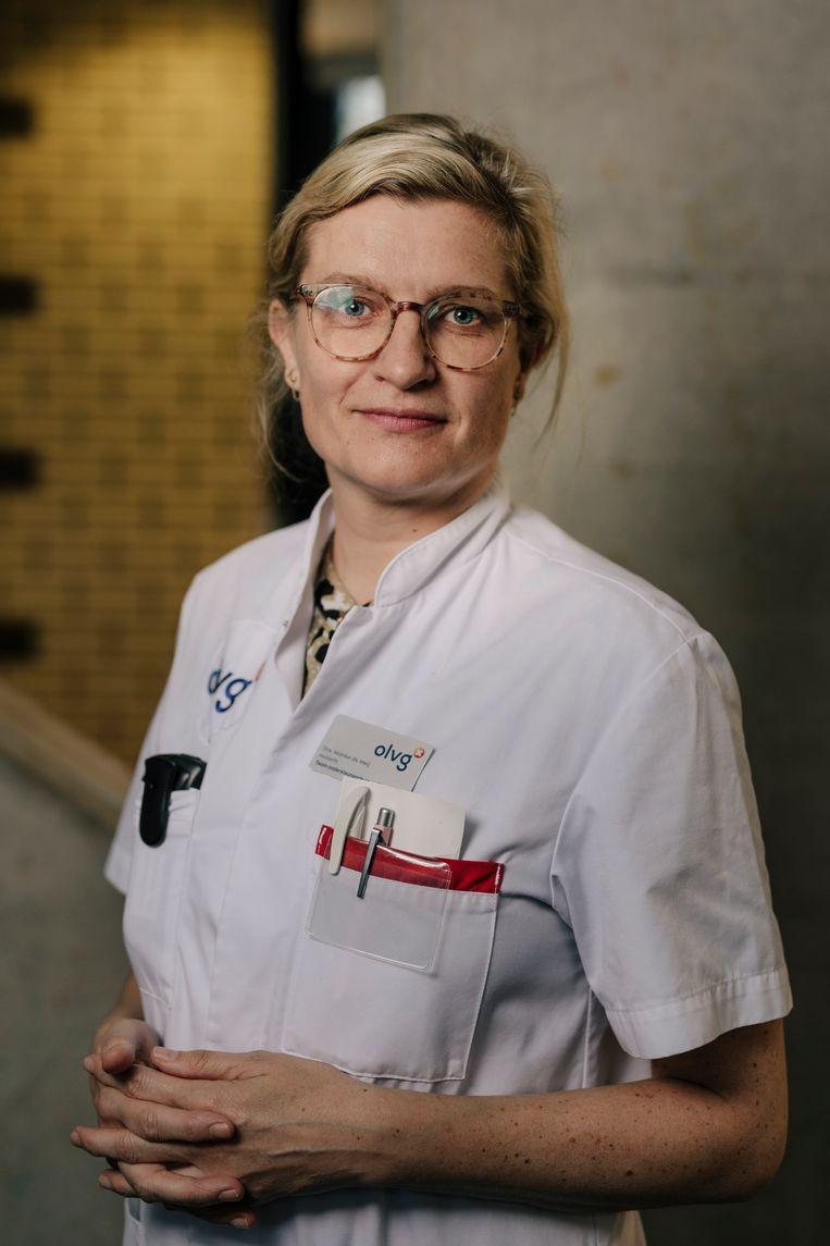 Marike de Meij, huisarts en palliatieve zorg bij het OLVG. Beeld Marc Driessen