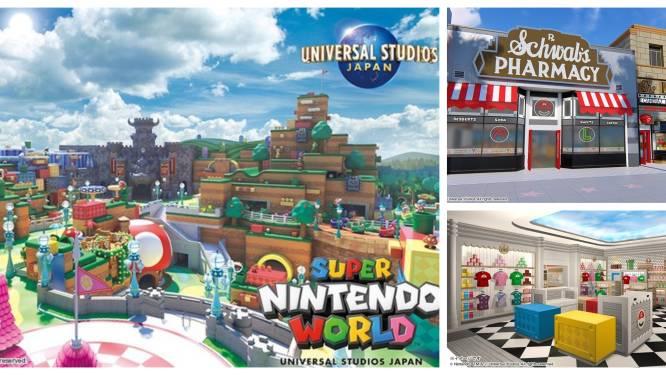 Nintendo opent volgend jaar pretpark in Japan