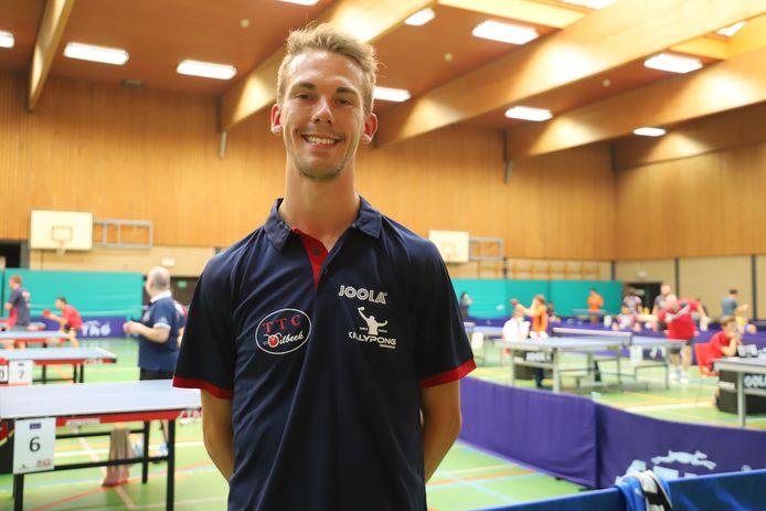 Julien Meurant van TTC Dilbeek.