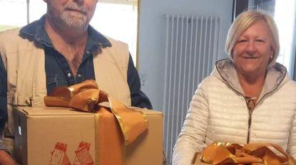 Rijstpap en paaseitjes voor zorgpersoneel en bewoners Ter Kimme