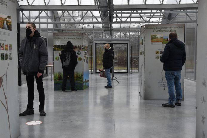 De nieuwe tentoonstelling in Het Leen.