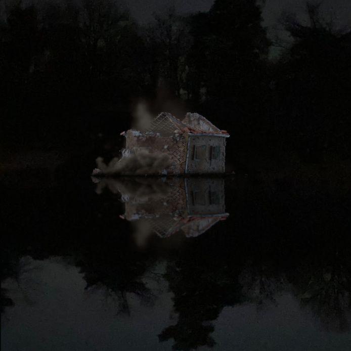 Een beeld uit de projectie.