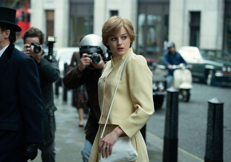Emma Corrin in 'The Crown'. Beeld AP