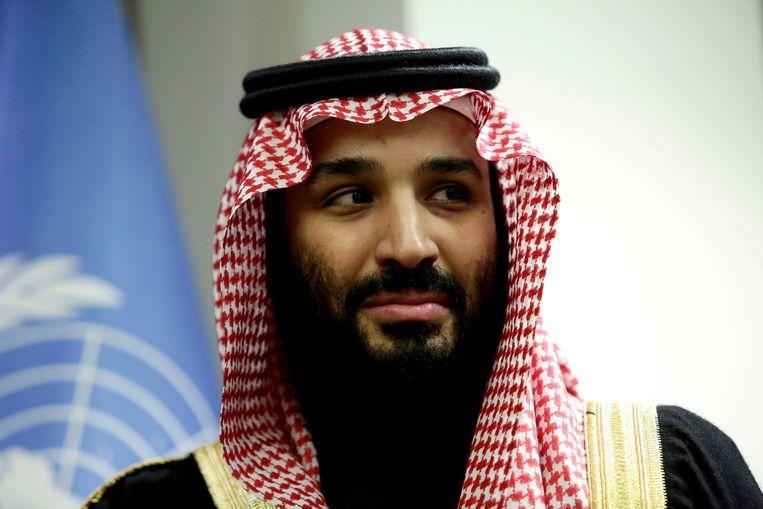 De Saudische kroonprins Mohammed bin Salman. Beeld REUTERS