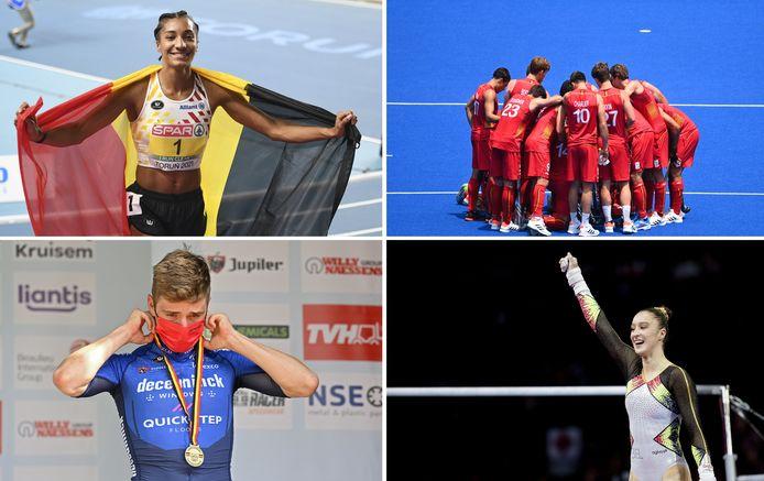 Athlétisme, hockey, cyclisme, gymnastique... le Team Belgium peut espérer des médailles sur tous les terrains au Japon.