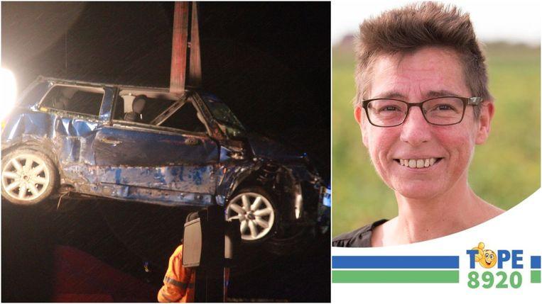 Bij een tragisch ongeval in de Klerkenstraat in Langemark-Poelkapelle is donderdagavond Katty De Jaeger (42) uit Langemark-Poelkapelle om het leven gekomen.