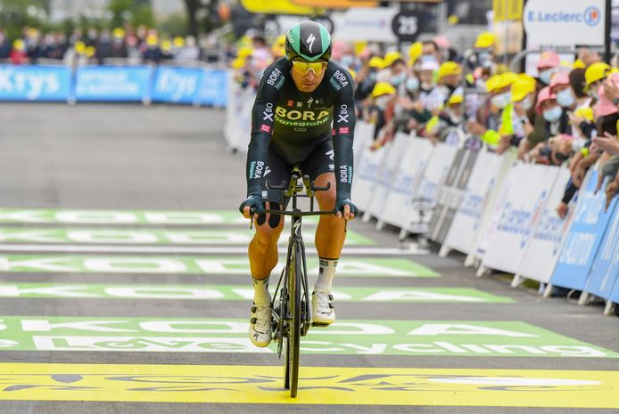 Laval Espace Mayenne - France - wielrennen - cycling - cyclisme - radsport - Peter Sagan (Slovakia / Team Bora - hansgrohe) pictured during 108th Tour de France 2021 stage 5 from Change to Laval Espace Mayenne ITT (27.2KM) on 30/06/2021 - photo William Cannarella/Cor Vos © 2021 © Photo News  ! only BELGIUM !