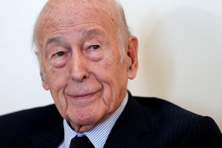 Valéry Giscard d'Estaing in 2016 Beeld REUTERS