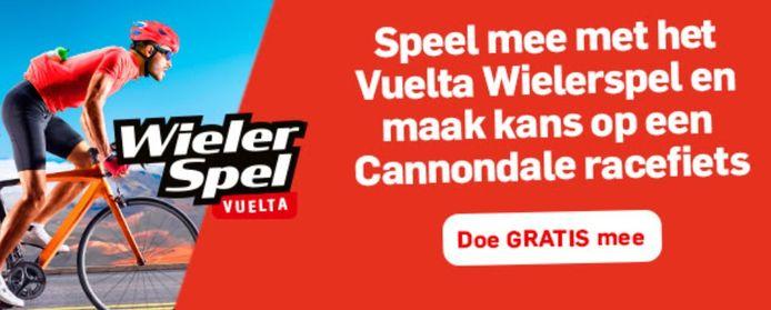 Doe nu mee aan het Vuelta Wielerspel van De Twentsche Courant Tubantia.