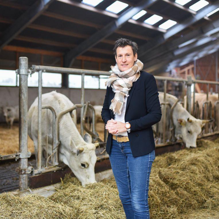 Een kijkje op de boerderij.  Beeld Sabine van Wechem