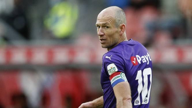 Robben doet mee met jeugdteam FC Groningen