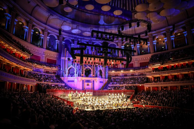 De Royal Albert Hall was tot de nok gevuld voor 'A Celebration of John Williams in Concert'. Beeld RV/Christie Goodwin