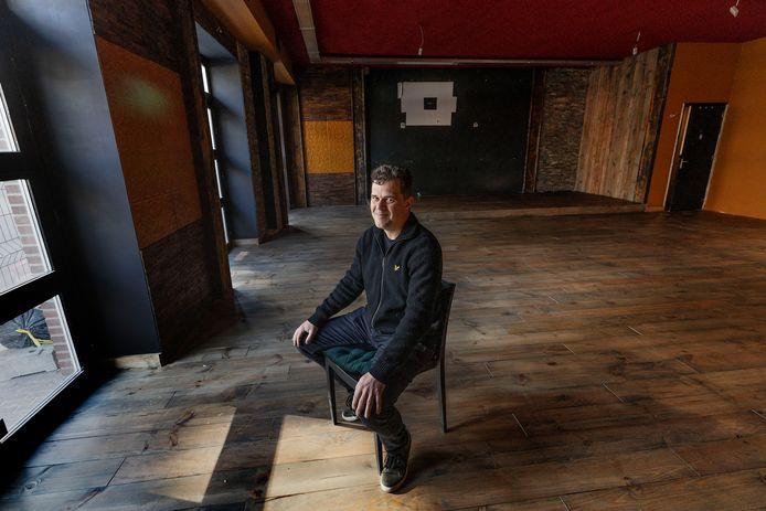 Rene Jeurgens, eigenaar van het nieuw te openen Valkenswaardse restaurant Denver steaks, wine, burgers.