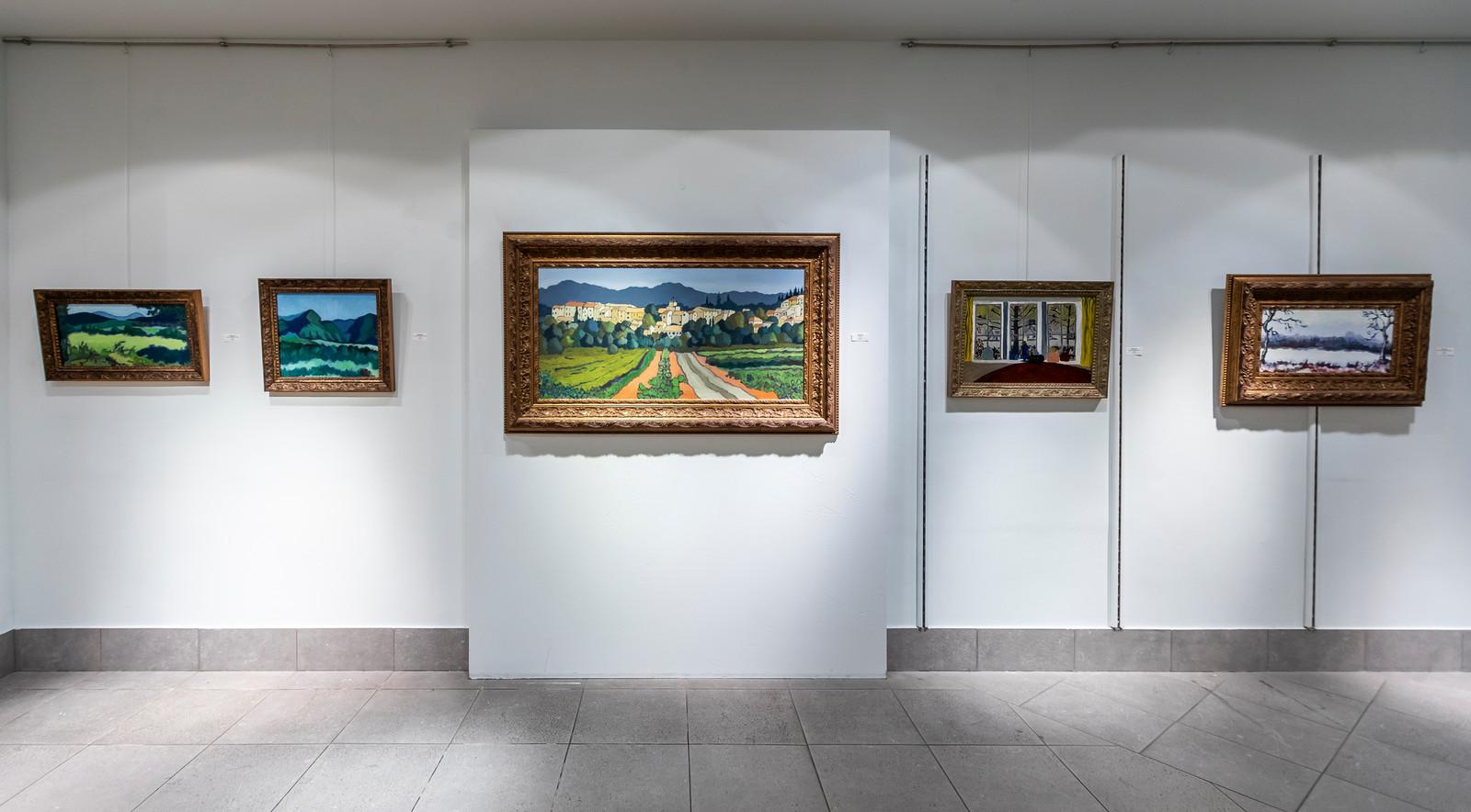 De tentoonstelling bij VDL Art van de Eindhovense kunstschilders Kees en Willem Bol loopt door tot 1 september.