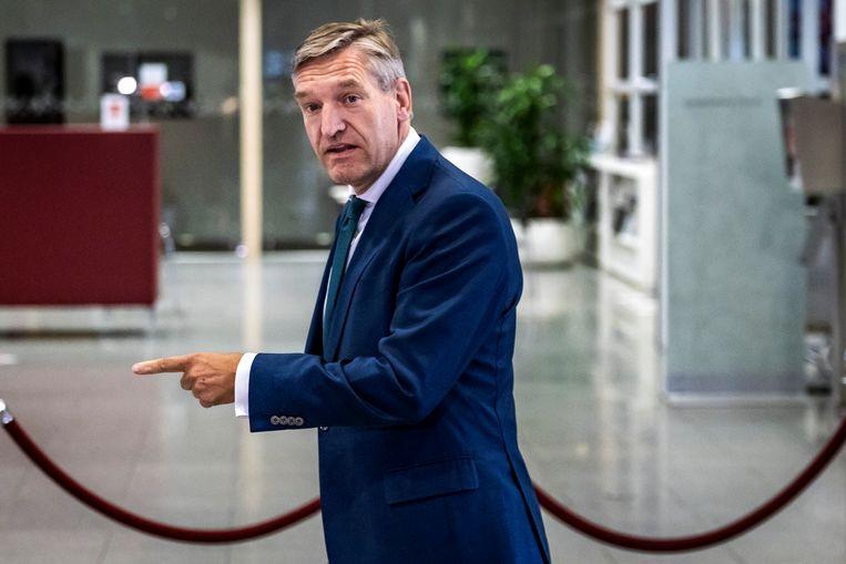 Sybrand Buma, oud-CDA-leider en nu burgemeester van Leeuwarden.  Beeld HH