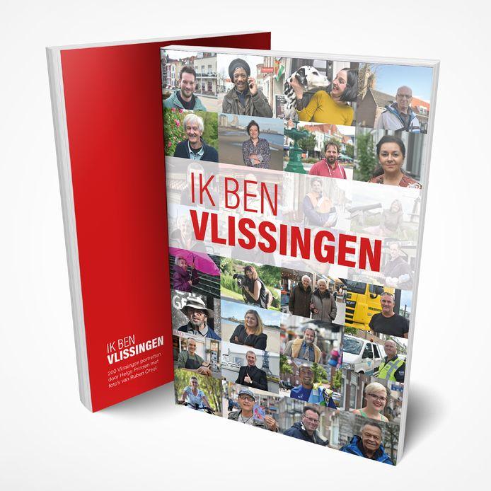 Cover van de uitgave van Helge Prinsen en Ruben Oreel, 'Ik ben Vlissingen'.