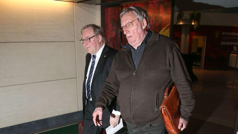 François De Keersmaecker (links) en CEO ad interim Gérard Linard.