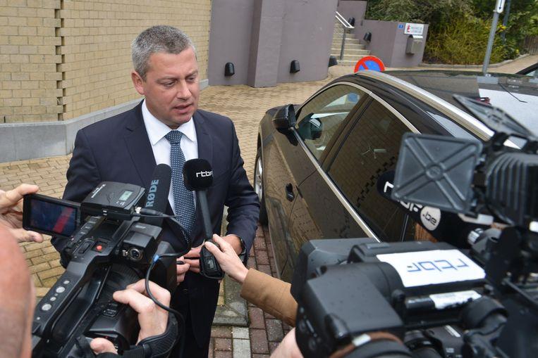 Dimitri Fourny (cdH) is de spil in de hele zaak van verkiezingsfraude in Neufchâteau.