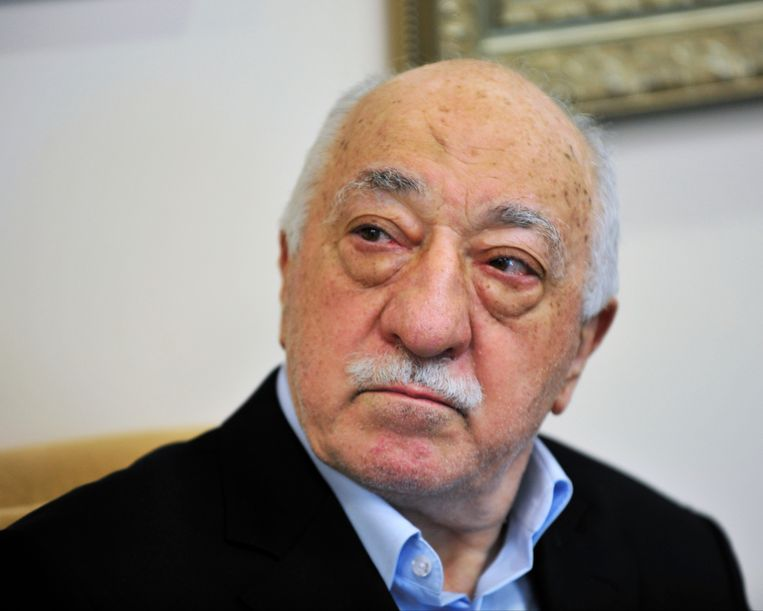 Prediker Fethullah Gülen . Beeld AP
