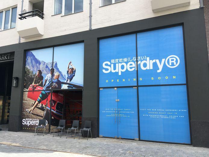 Superdry gaat zaterdag 6 juli open in De Houtmarkt