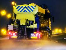 Code geel vanwege gladheid: strooiwagens op pad in Oost-Nederland