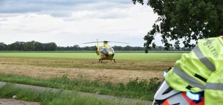 Brommerrijder zwaargewond bij frontale botsing met auto in Diessen