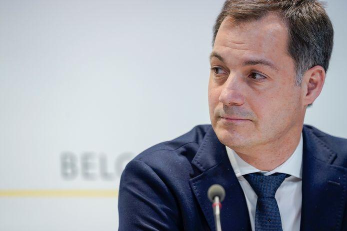 Minister van Financiën Alexander De Croo (Open Vld).