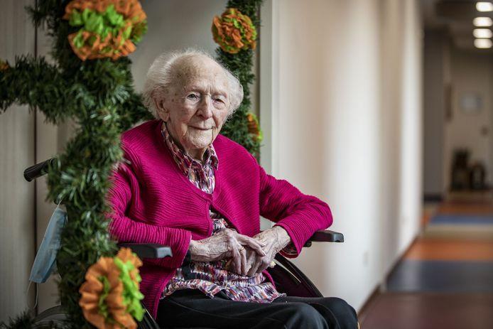 Betsie Leerling-Van Lente vierde haar 100e verjaardag.