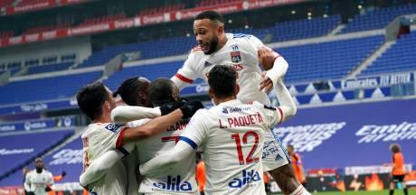 Depay met assist belangrijk voor nummer twee Olympique Lyon