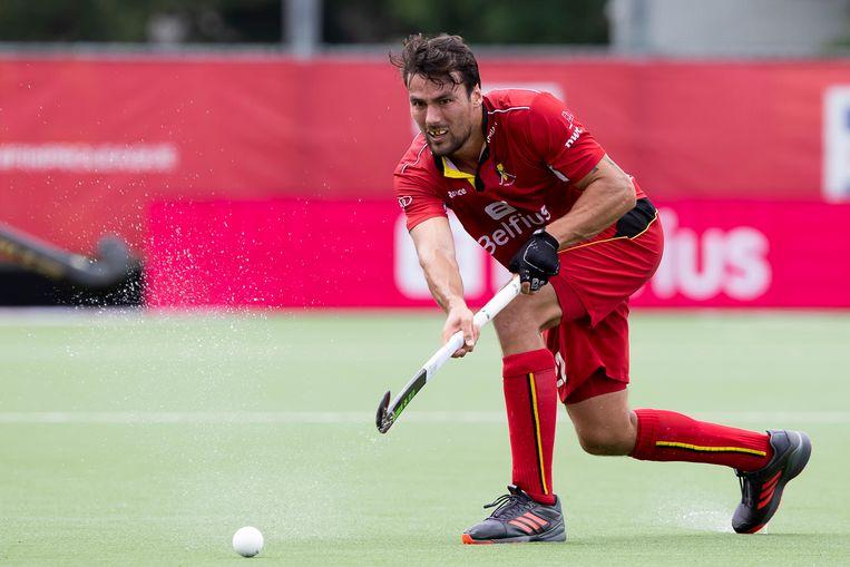 Simon Gougnard scoorde voor de Red Lions.