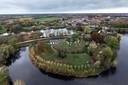 Fort Asperen maakt deel uit van de Nieuwe Hollandse Waterlinie.